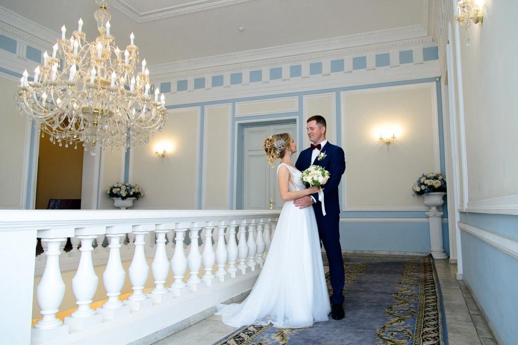 свадебная фотосессия в загсе на пр стачек