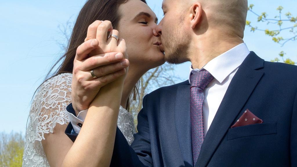 свадебная фотосессия в загсе пушкин