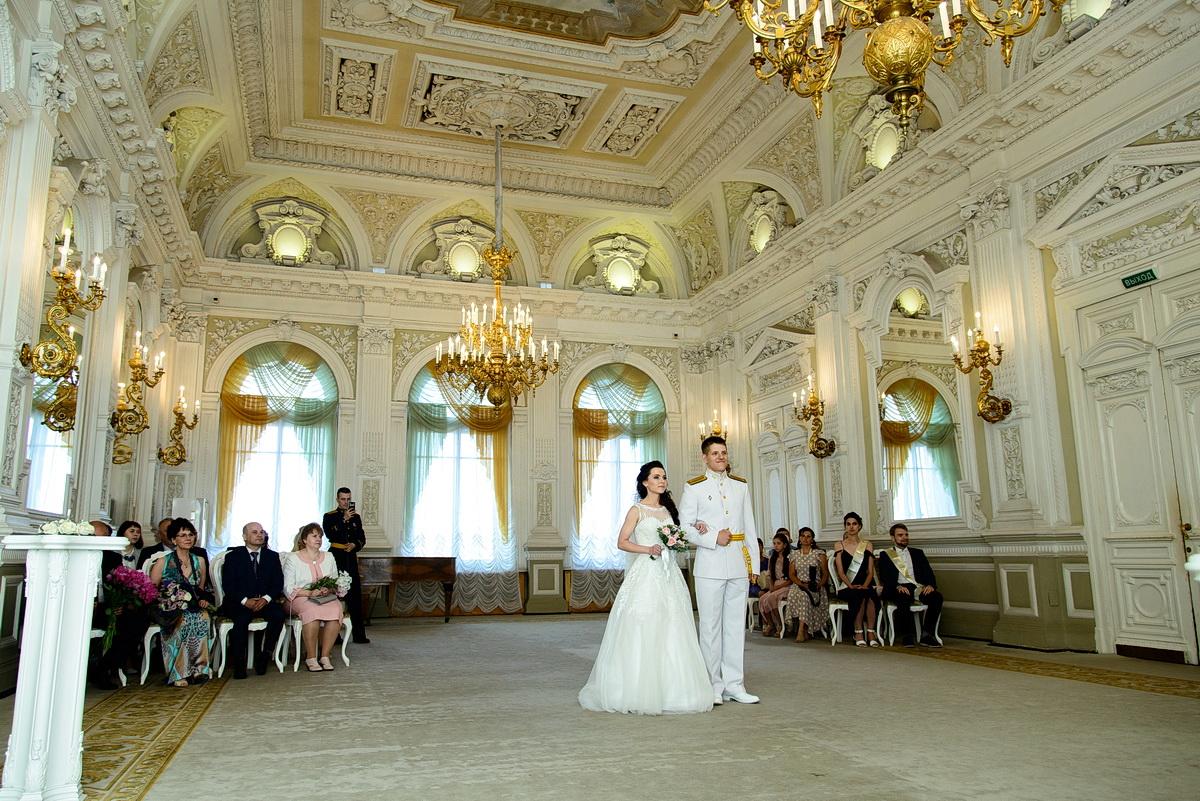 Свадебная фотограф в Дворце бракосочетания №1